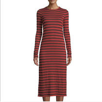 Brand New With Tags Current/elliott Breton Stripe Dress Size Small Photo