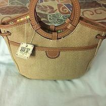 Brand New With Tags Fossil Tan Purse Photo