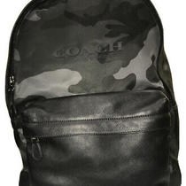 Brand New With Tags. Mens Coach Camo Backpack Photo