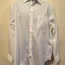 Brand New With Tags Mens Michael Kors White Button Down Dress Shirt Size 16 1/2  Photo