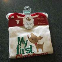 Brand New  With Tagscarters Christmas Bodysuit 3 Months -