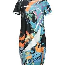 Brand New  Woman's Versace Jeans Dress in Turquoise  Photo