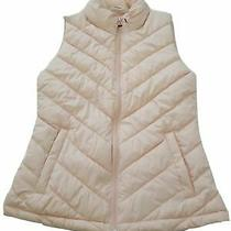 Brand New - Women's Gap Light Pink Puffer Vest- Size Xs Photo
