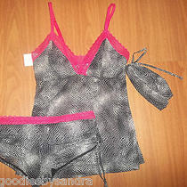Brand New Women's Small  Cami & Panty Set by Josie Natori for Target Photo
