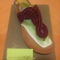 Brand New Womens Leather Sandals Size 9m Color Crane Fuchsia. Photo