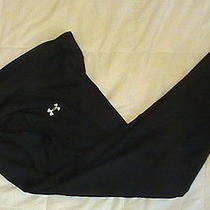 Brand New Womens Under Armour Allseasongear Running Fitted Pants Xl Piano Black Photo