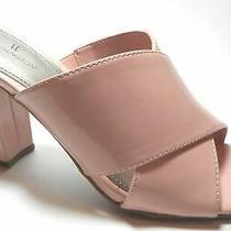Brand New Worthington Size 6.5 Blush Pink Mule High Heel Sandal Shoes  Photo