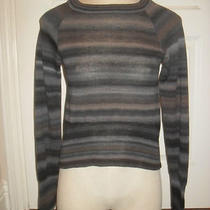 Brand Nwt a.l.c. 2011 Long Sleeve Stretch Crew Neck 100% Wool Dress Top 275 Photo