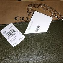 Brand Nwt Authentic Coach Clutch Key and Cell Phone Holder Wallet Photo