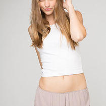 Brandy Melville Blush Vodi Ruffle Trim Dolphin Short Xs/s Photo
