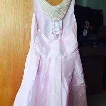 Breakfast at Tiffany's Audrey Hepburn Style Pearl Elegant Clasdic Dress Pink Photo