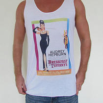 Breakfast at Tiffany's Movie Flim Unisex Vest Tank Top T-Shirt Audrey Hepburn Photo