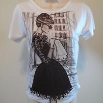 Breakfast at Tiffanys Audrey Hepburn T Shirt  Size Small S Short Sleeve Photo