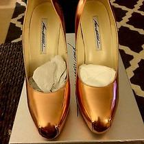 Brian Atwood Rose Gold Pump Size 39 Photo