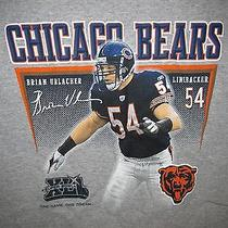 Brian Urlacher 54 Chicago Bears Reebok Brand T Shirt Sz M Nwot Nfl  Photo