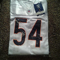 Brian Urlacher Chicago Bears Reebok Auth. on Field Jersey New Size 52  .  Photo
