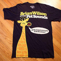 Brian Wilson Pet Sounds 40th Anniversary T-Shirt L Chaser  Photo