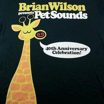 Brian Wilson Presents Pet Sounds Xl Extra Large Chaser 40th Anniversary Giraffe Photo