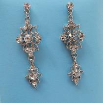 Bridal Dangle Earrings Swarovski Crystal Perfect Gift E1111 Photo