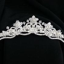 Bridal Headpiece Tiara Swarovski Crystal New Prom Jewelry Photo