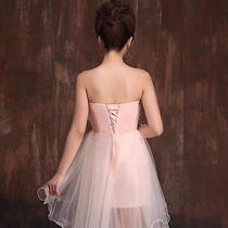 Bridal Party Pink Blush Wedding Dress  Photo