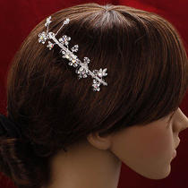 Bridalpromparty Hair Flower With Swarovski Crystal Photo