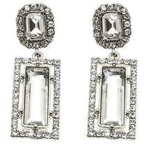 Bridal Wedding Homecomings and Special Events Swarovski Crystal Earrings Photo