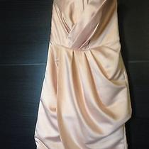 Bridesmaids Dress Wedding Size 2 Pink Blush 'White' by Vera Wang Photo