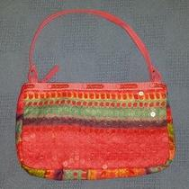 Bright Colored Lesportsac Purse Guc Small   Photo