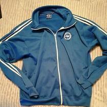 Brighton and Hove Albion Football Club Official Blue Zip Up Sweatshirt Photo