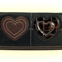Brighton Art Heart Large Wallet Photo