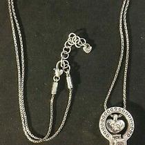 Brighton Badge Clip Necklace J43380 34