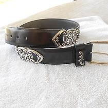 Brighton Belt Women's Black Size Mnice Photo