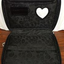 Brighton Black Cloth and Leather 13in. Laptop Case Photo