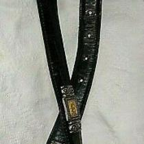 Brighton Black Emboss Leather - Size