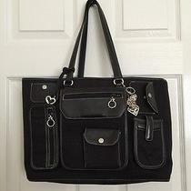 Brighton Black Laptop Bag Photo