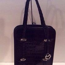 Brighton Black Leather Handbag Photo