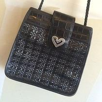 Brighton Black Leather Purse Photo