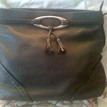 Brighton Black Leather  Purse Tote Handbag   13 X 10 X 4 1/2  Hobo Make Offer Photo