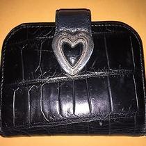 Brighton Black Leather Wallet Photo