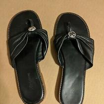 Brighton Black Sandals - 9 1/2 M Photo