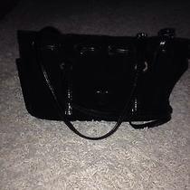 Brighton Black Suede Handbag Photo