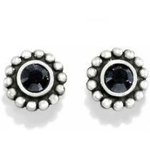 Brighton Black Twinkle Mini Post Earrings Style J20493 Photo