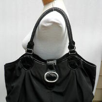 Brighton Black  With  Patent Leather Trim Tote. Large. Awesome. Photo
