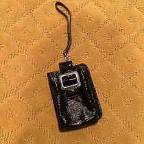 Brighton Black Wristlet Wallet With Cell Phone Pocket Photo