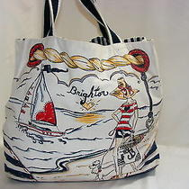 Brighton Boardwalk Tote Beach Bag Totes & Shoppers Photo