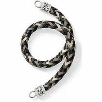 Brighton  Braidy Strap With Rings Included   Nwt    Black Mix Photo