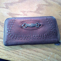 Brighton Bronze Leather Wallet Photo