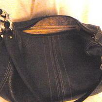 Brighton Brown Leather Chain/leather Strap Purse Photo