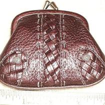 Brighton Brown Leather Coin Purse Nwt  Perfect Gift   Photo